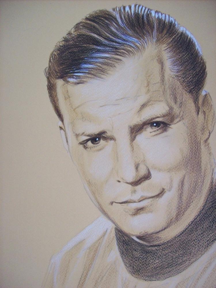 William Shatner par Tom-Heyburn